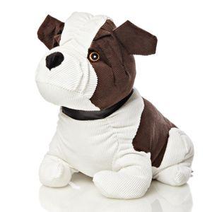 Lumaland Stoff Türstopper Hund 1,3 Kg mit Sandfüllung kinderfreundlich
