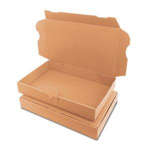 verpacking 100 Maxibriefkartons Versandkartons Faltschachtel Faltkarton Maxibrief 225 x 145 x 35 mm   Braun   MB-XS