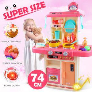 Meco Rosa Kinderküche Spielküche Spielzeug Set Rosa Küche Kunststoff Spielzeugküche Kid Gaming DE