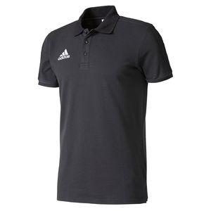 adidas TIRO17 Baumwolle POLO Herren Poloshirt Schwarz, Größe:S