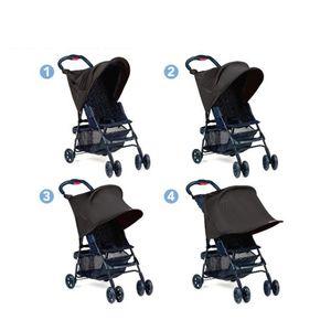 Premium Kinderwagen Sonnenschutz Baby Sonnenverdeck Sonnendach für Kinderwagen Sportkinderwagen Buggy Autositz