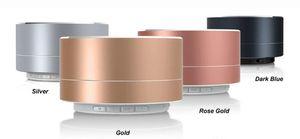 JuBaTec Bluetooth Speaker, Farbe:rotgold