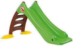 Dohany 2in1 Kinderrutsche Rutsche Wasserrutsche freistehend Rutschlänge 120cm grün/brau
