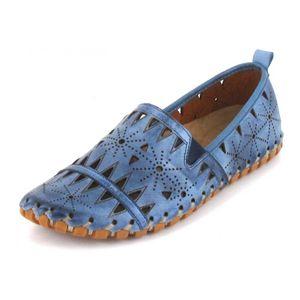 Gemini Damen Mokassin in Blau, Größe 36