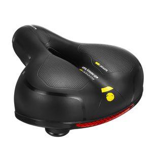 Stoßdämpfer Fahrrad Fahrrad MTB breite Big Sattel weiche Extra Komfort Fahrradsattel Sattel Sitz Farbe: Gelb
