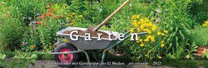 Tischkalender Garten 2022