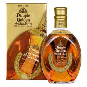 Dimple Golden Selection Blended Scotch Whisky in Geschenkpackung | 40 % vol | 0,7 l