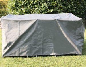 Siena Garden Schutzhülle Comfort für Gartenmöbel Ø320cm anthrazit
