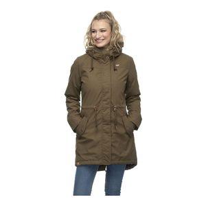 Ragwear Elba Coat B - Parka, Größe_Bekleidung:L, Ragwear_Farbe:olive