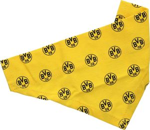 BVB Borussia Dortmund Fußball Bundesliga BVB 09 Halstuch Hundehalstuch schwarz gelb Emblem