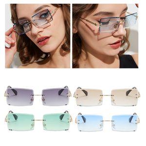4 Stück Sonnenbrille (grau, braun, grün, blau)
