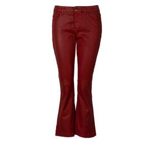 "Pinko Jeans ""Fannie"" -  1J109W Y5PZ / Fannie Flare Cropped - Rot-  Größe: 27(EU)"