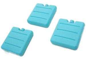 Kühlakku Kühlelemente Klein Blau für Kühltasche 18 Stück Set