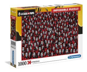 Clementoni 39527 Netflix La Casa De Papel 1000 Teile Impossible Puzzle