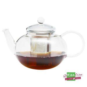 Teekanne aus Glas 'Miko' inkl. Edelstahlsieb, 1,2l