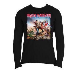 Iron Maiden Trooper Long Sleeve Shirt: XXL