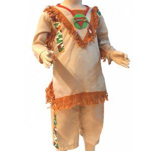 Klein-Kinder Indianer Kostüm #  Größe 80