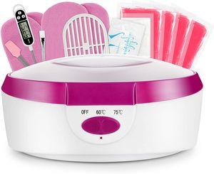 SPEED Paraffinbäder Wachsbad für Hände und Füße mit Zubehör 265W 2.7L- Rosa