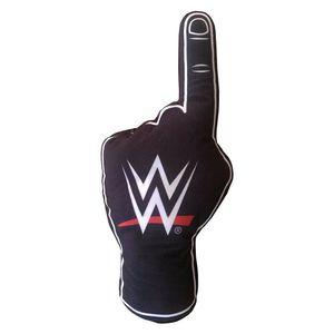 WWE Gefülltes Kissen, Schaumfinger TA7420 (Einheitsgröße) (Schwarz/Weiß)