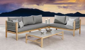 BEST 5-tlg. Lounge Gruppe Madagaskar Grandis/grau, 99151067 braun