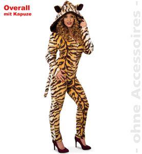 Damen Kostüm Tiger Indira, Größe:40