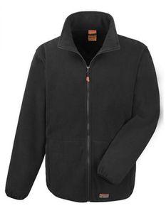 Workguard H Duty Micro Fleece Arbeitsjacke - Farbe: Black - Größe: L