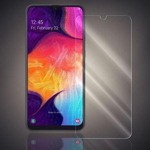 Panzer Folie für Samsung Galaxy A50 Echt Glas Display Schutz Folie Glasfolie 9H Härtegrad Schutzglasfolie