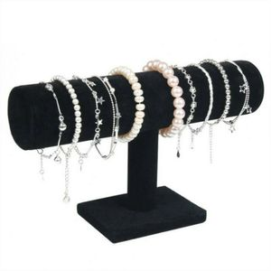 Samt Schmuckständer Halter Ausstellung Samt Armband Kettenuhr Halsketten T-Bar