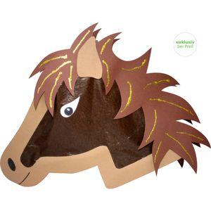 Laternen Bastelset Pferd, 4 Stück