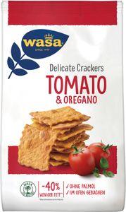 Wasa Delicate Crackers Tomate und Oregano krosses Knäckebrot 160g