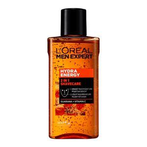 3 x L'Oreal Men Expert Hydra Energy 2-in-1 Shavecare Gesichtspflege je 125ml