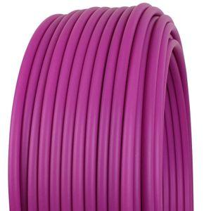 Kunststoffrohr aus Polypropylen Ø 16 mm, Meterware, Violett