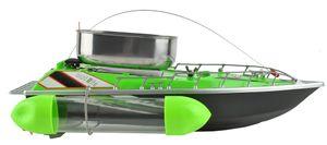 Fishfutter Boot Ferngesteuert bis zu 300m 1,2kg Futterbehälter Komplettes Set 6050