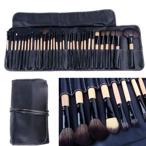 32stk. Make up Pinsel Set profi Kosmetik make up Pinselset mit Tasche