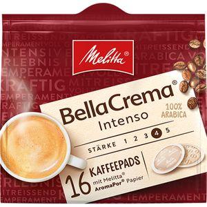Melitta Bella Crema Kaffee Pads vollmundig intensiv im Geschmack 105g