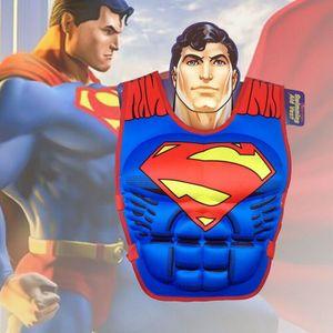 Superman Schwimmweste für Kinder Rettungsweste Schwimmweste Schwimmhilfe Swimwesten Kinder Bootfahren Weste Jacket
