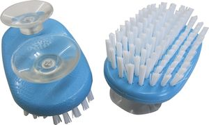 Handbürste Nagelbürste mit Saugnäpfen