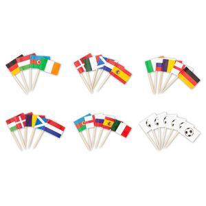Flaggenpicker EM 2020/2021, 30 Stück