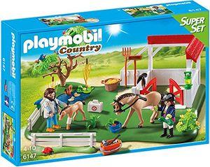 PLAYMOBIL® 6147 - Country - Spielset, Koppel mit Pferdebox