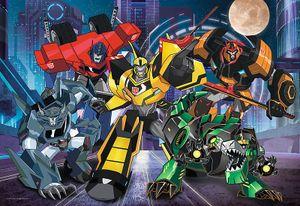 Puzzle 100 Transformers Druzyna Autobotow
