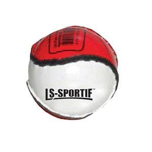 "LS Sportif - Kinder Sliotar-Ball ""Club and County"" RD555 (Einheitsgröße) (Rot/Weiß)"