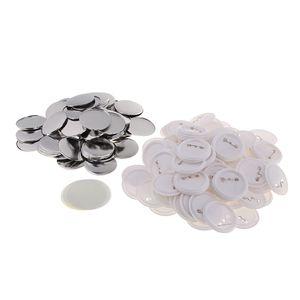 100er Buttonrohlinge Knopfrohlinge Buttons selber Machen 58mm DIY Ansteckbuttons für Herstellung Abzeichen