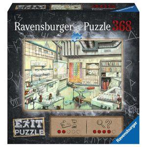 RAVENSBURGER EXIT Puzzle Das Labor Erwachsenenpuzzle Exit Room Escape 368 pcs