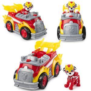 Mighty Pups | Deluxe Fahrzeuge mit Licht, Sound und Spiel-Figur | Paw Patrol, Figur:Marshall