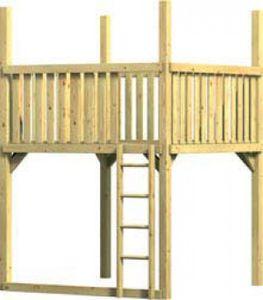 WINNETOO Spielturm GIGA-Turm (31)