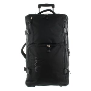 Franky Rollenreisetasche L 70 cm Schwarz