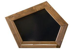 AXI Schultafel Gartenspielhaus Zubehör, schwarz; A031.007.00