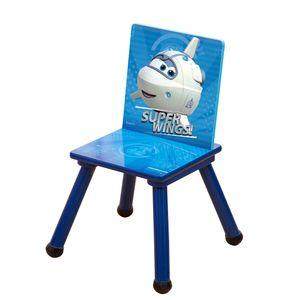 Style home Kinderstuhl Holzstuhl Stuhl für Kinder 53x27x27cm Super Wings Astra