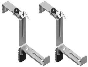 emsa Blumenkasten-Halter VARIO COMFORT aluminium 2 Stück