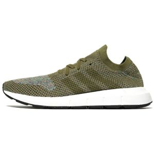 Adidas Originals Swift Run Primeknit PK Sneaker Laufschuhe oliv/weiss/bunt BB6811, Schuhgröße:44 2/3 EU